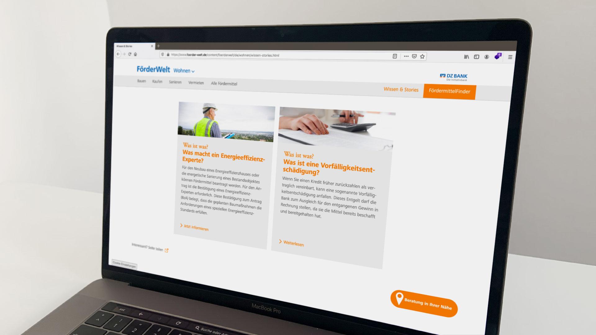 Informative Artikel im Bereich Wissen & Stories auf der FörderWelt