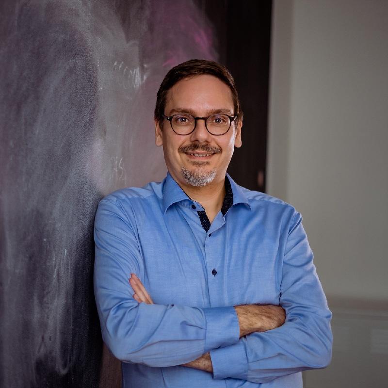 Portrait von Benedikt Eger