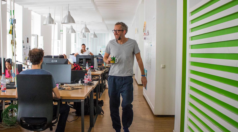 Büro von Unterschied & Macher in der Stuttgarter Straße in Frankfurt