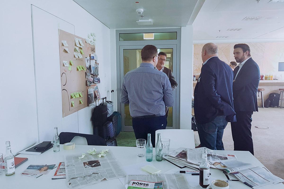 Innovation Lab der DZ BANK
